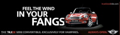 Mini Cooper co-branded HBO: True Blood advert
