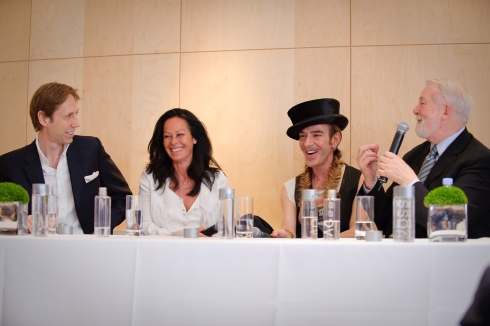 Nick Knight;Amanda Harlech;John Galliano;Colin MacDowell - Fashion Fringe at Covent Garden