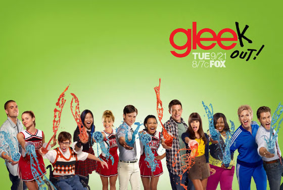 GLEE SEASON 2 PROMO CAMPAIGN POSTER GLEEK OUT SLUSHEE