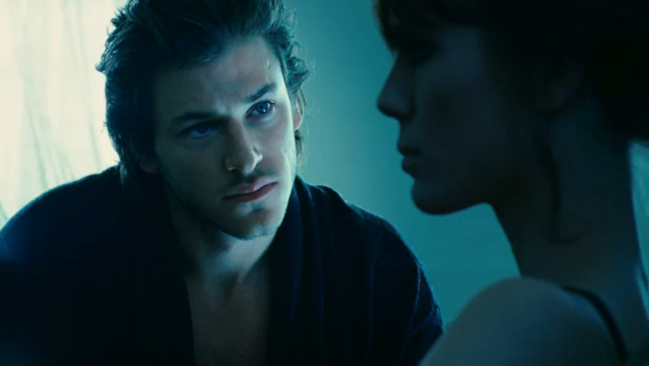 pin tags gaspard ulliel long hair blue gif dimples on. Black Bedroom Furniture Sets. Home Design Ideas