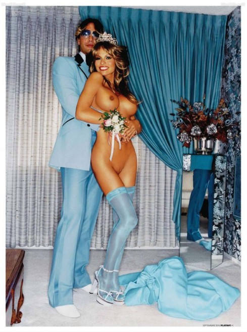 PAMELA ANDERSON PLAYBOY ROMANIA DAVID LACHAPELLE