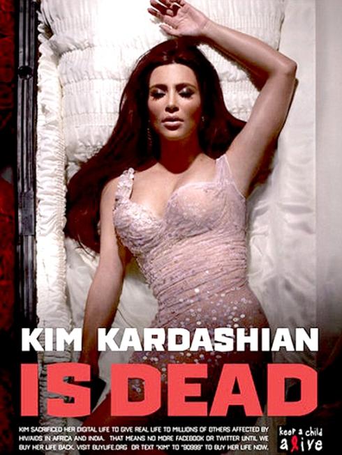 KIM KARDASHIAN DEAD AIDS