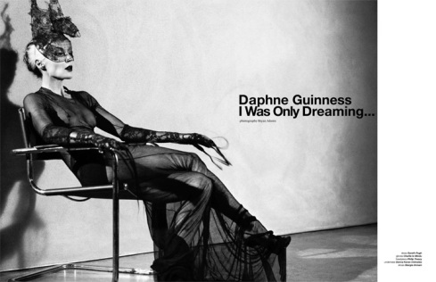 ZOO MAGAZINE #29 2010_11 Cover - Daphne Guinness by Bryan Adams 01