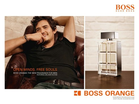 Orlando Bloom  BOSS Orange