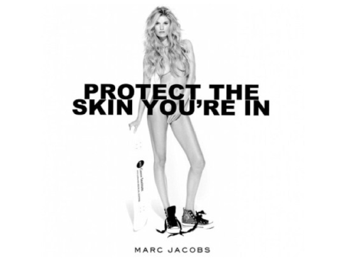 Marisa Miller Marc Jacobs Cancer Awareness Campaign