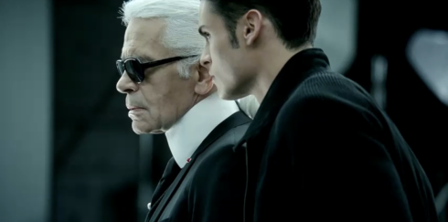KARL LAGERFELD VOLKSWAGEN ADVERT COMMERCIAL VW