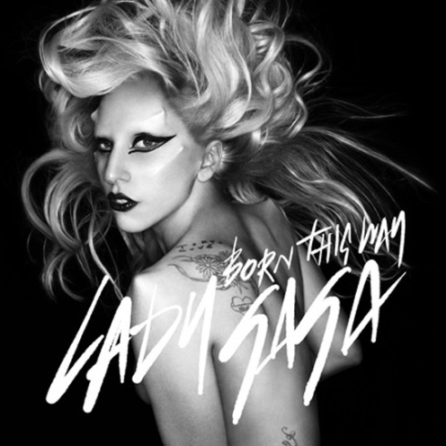 LADY GAGA BORN THIS WAY SINGLE ARTWORK