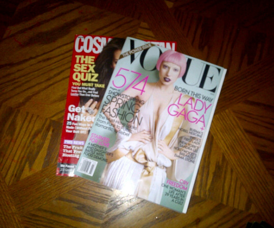 lady gaga cover of US vogue