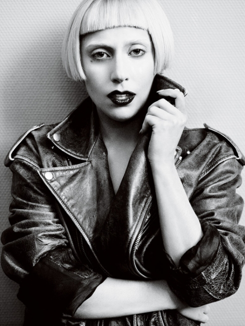 lady gaga mario testino vogue usa