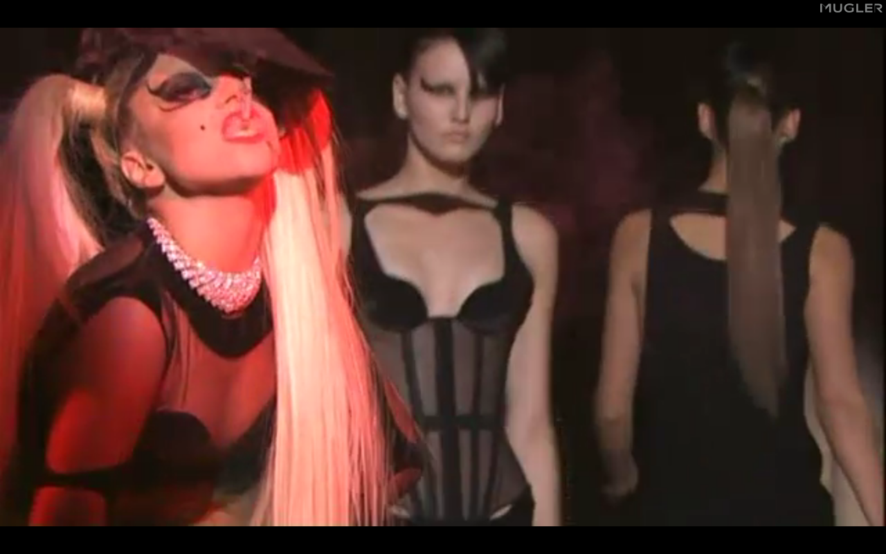lady gaga mugler live stream back stage government hooker