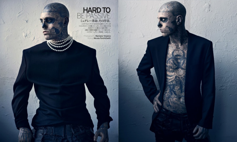 RICO GENEST VOGUE HOMMES JAPAN MUGLER