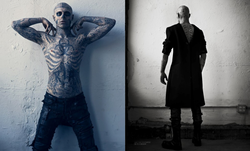RICO GENEST VOGUE HOMMES JAPAN THIERRY MUGLER