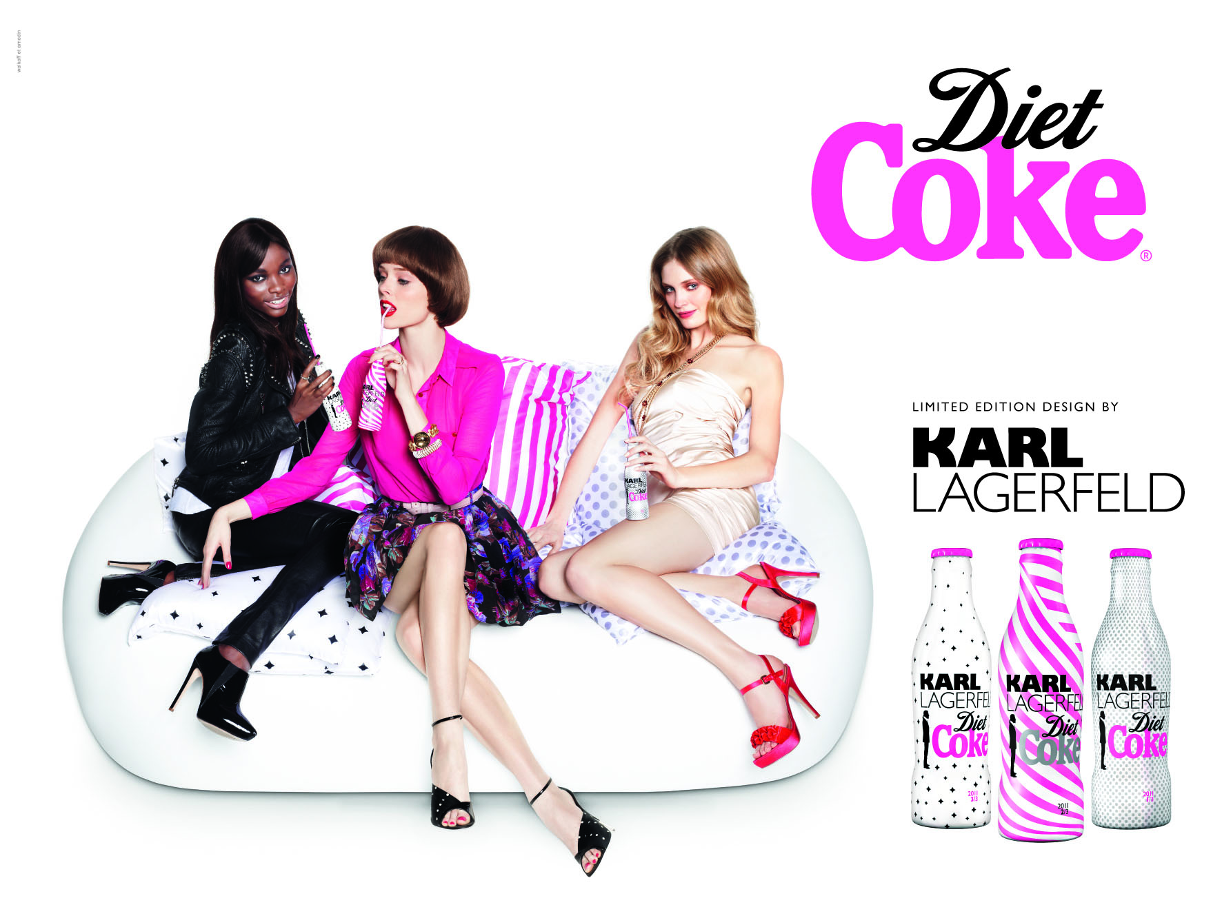 DIET COKE KL 3 GIRLS KARL LAGERFELD