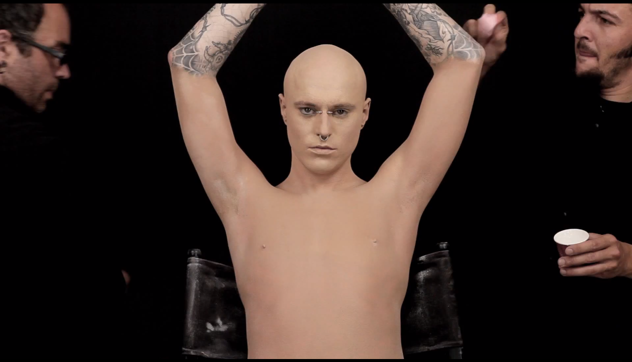 Zombie boy for How to cover a tattoo without makeup
