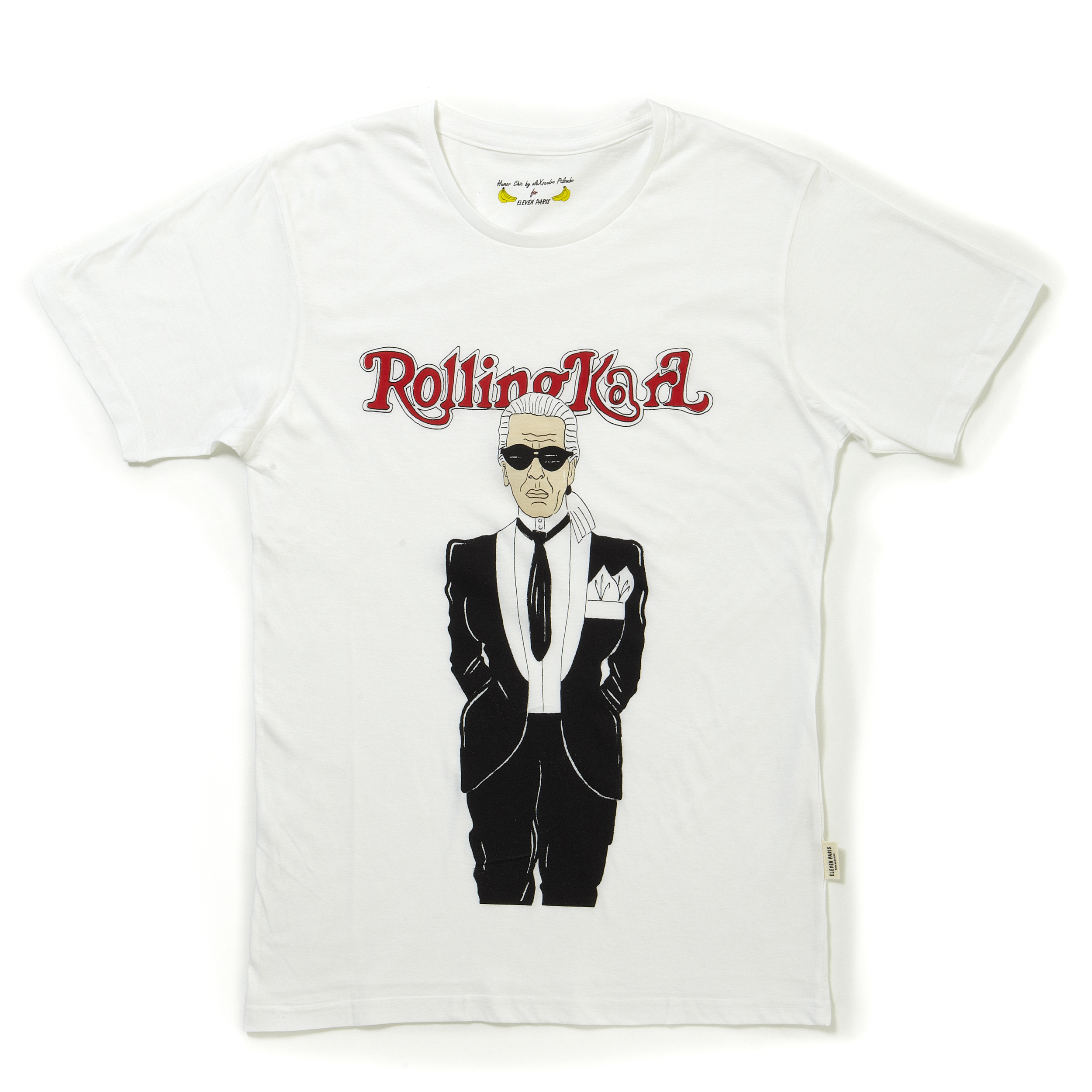 karl lagerfeld t shirts by eleven paris karl is eleven 39 s. Black Bedroom Furniture Sets. Home Design Ideas