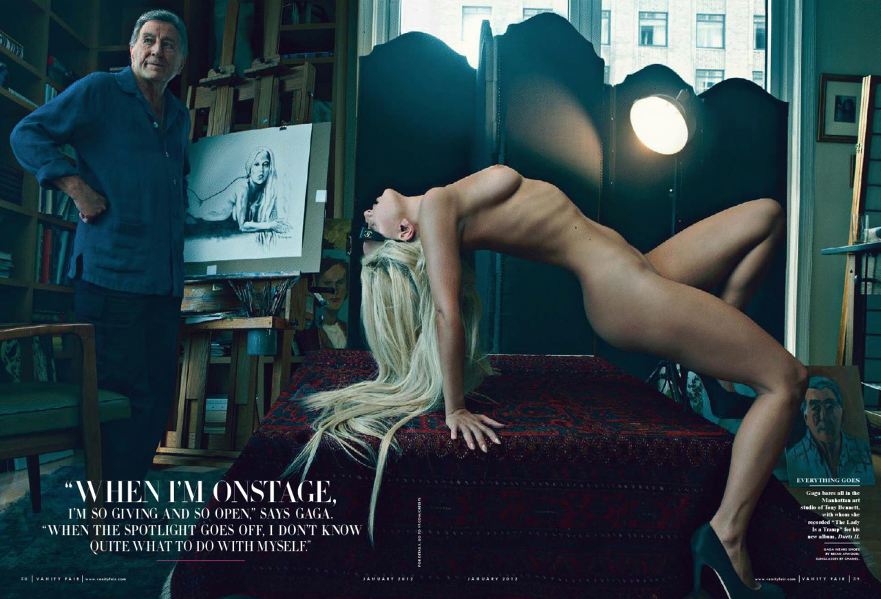 Lady Gaga, Taylor Kinney Pose Naked After Having Sex