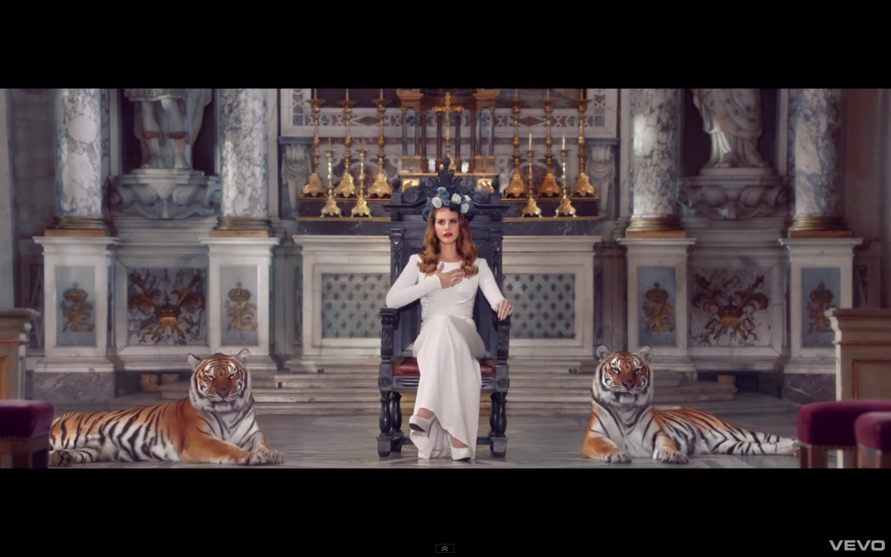 music video: lana del rey – born to die directed by yoann ...