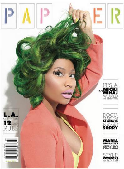 [ Ảnh ] Hình ảnh đẹp của Nicki Minaj trên tạp chí Nicki-minaj-paper-magazine-cover-karlismyunkle