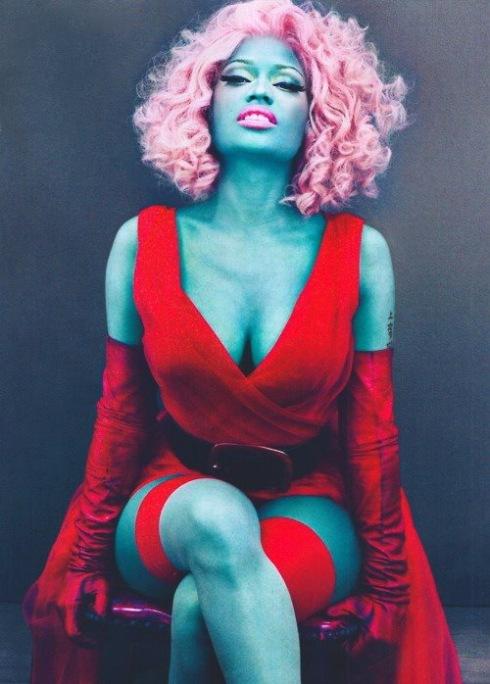 [ Ảnh ] Hình ảnh đẹp của Nicki Minaj trên tạp chí Nicki