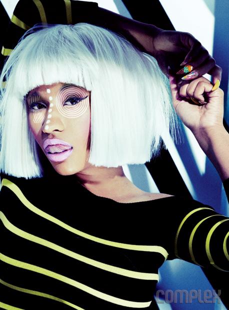 [ Ảnh ] Hình ảnh đẹp của Nicki Minaj trên tạp chí 90