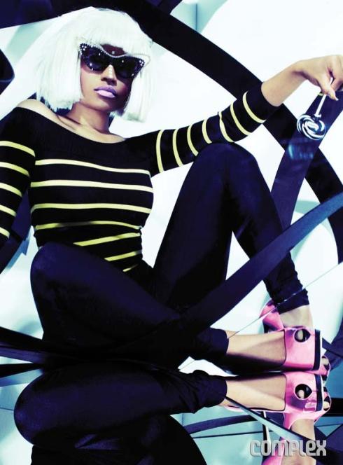 [ Ảnh ] Hình ảnh đẹp của Nicki Minaj trên tạp chí 91