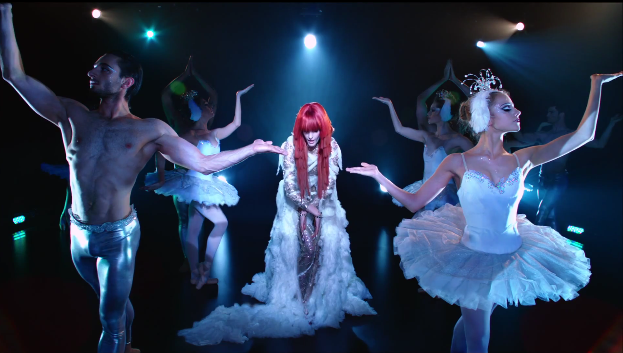 LaChapelle's Video for Florence + The Machine's Spectrum