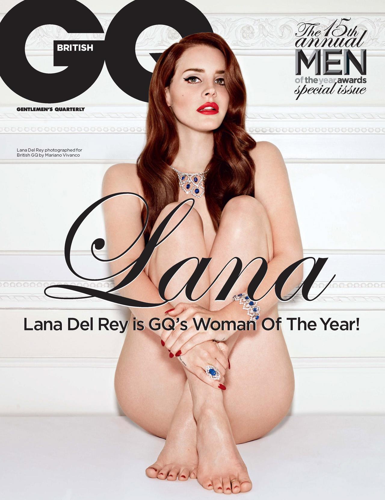 Lana Del Rey Naked