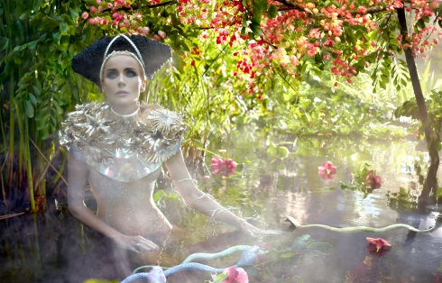 Daphne Guinness by David LaChapelle (Slow Burn - Harper's Bazaar China December 2012) 4